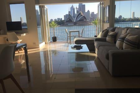 Luxury waterfront & amazing views - Kirribilli - Apartment