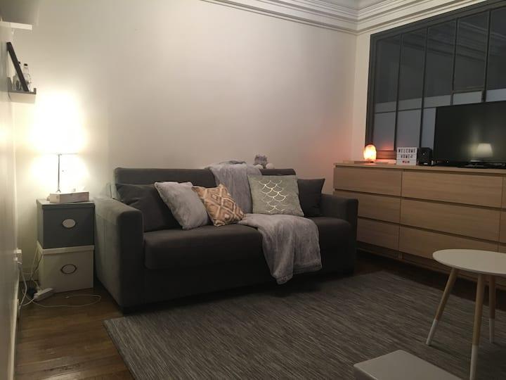 Appartement cosy Père Lachaise