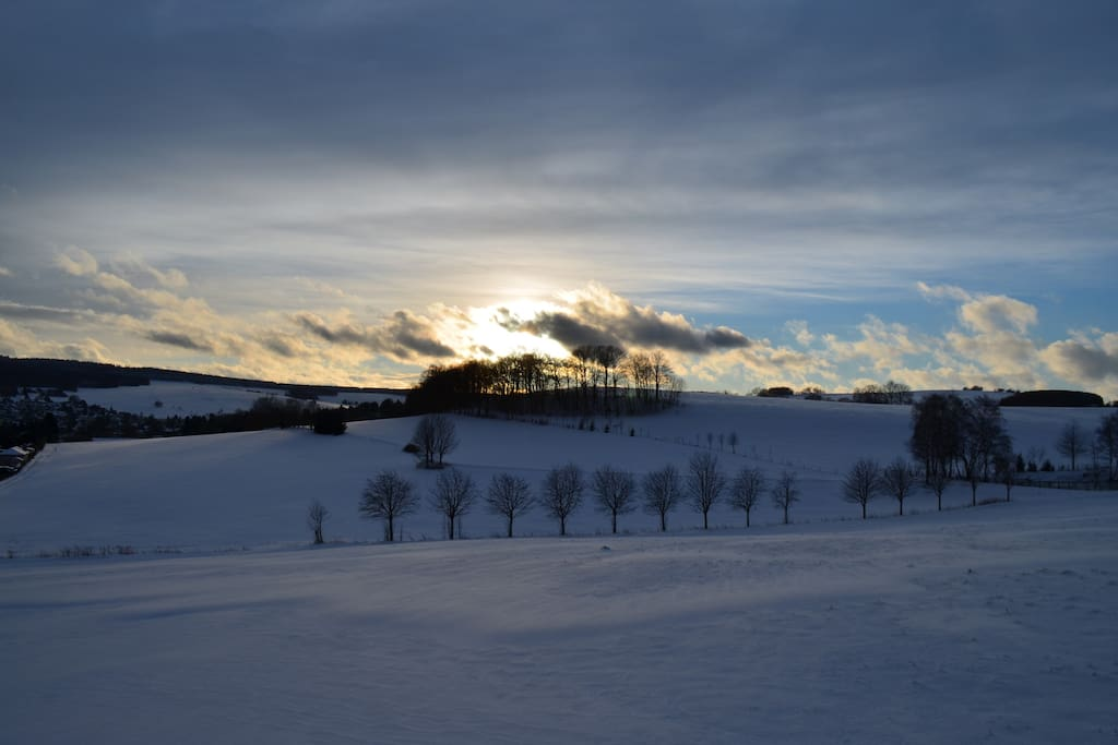 Winterzauber in Thum