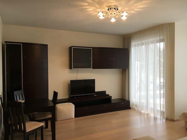 Comfortable two-roomed flat in Urmala near the sea