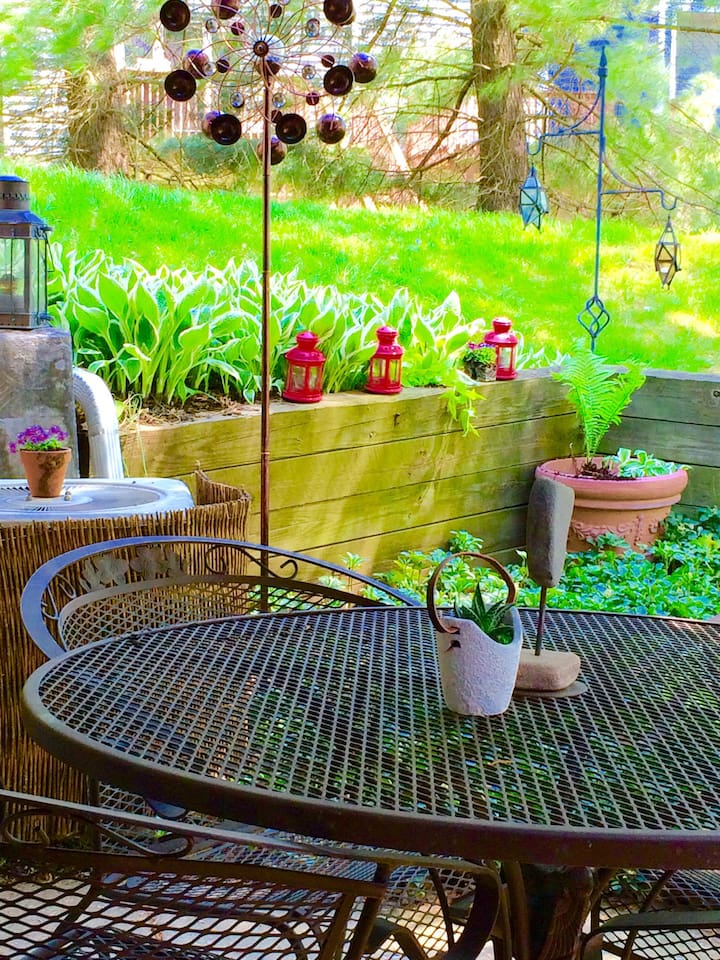 Your private little patio