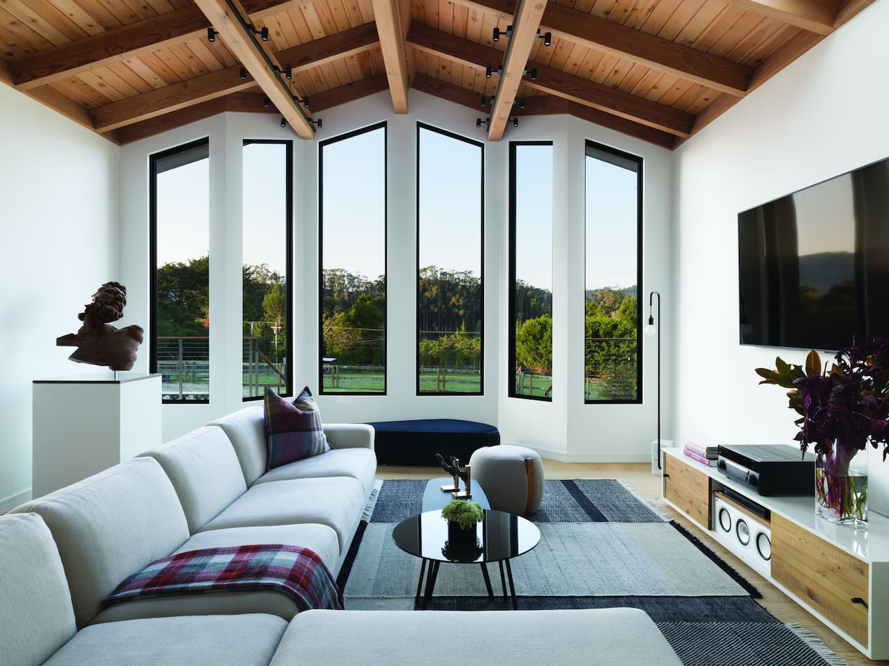 Overlooking Inverness ridge - expansive, insulated windows