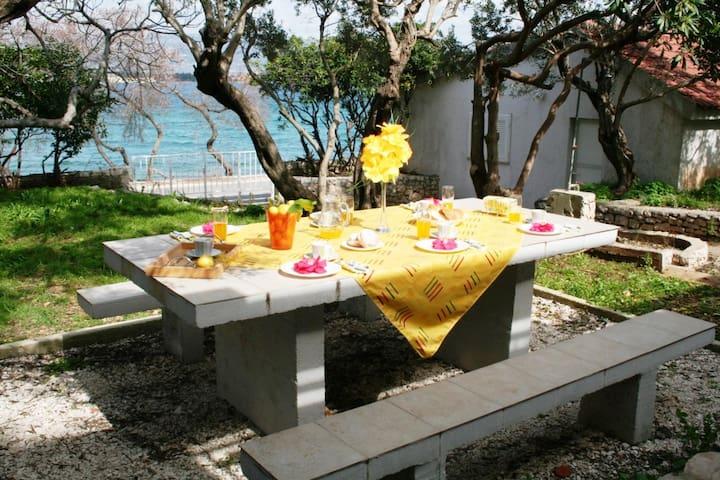 Villa+gardens, 10m from beach, 3km from Trogir Old - Mastrinka - Villa