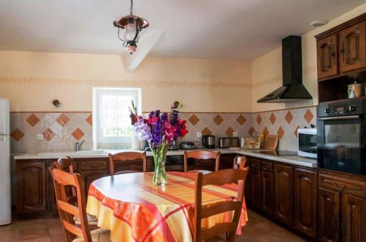 Magnifique Maison avec Piscine à la Campagne - Semoussac - Casa