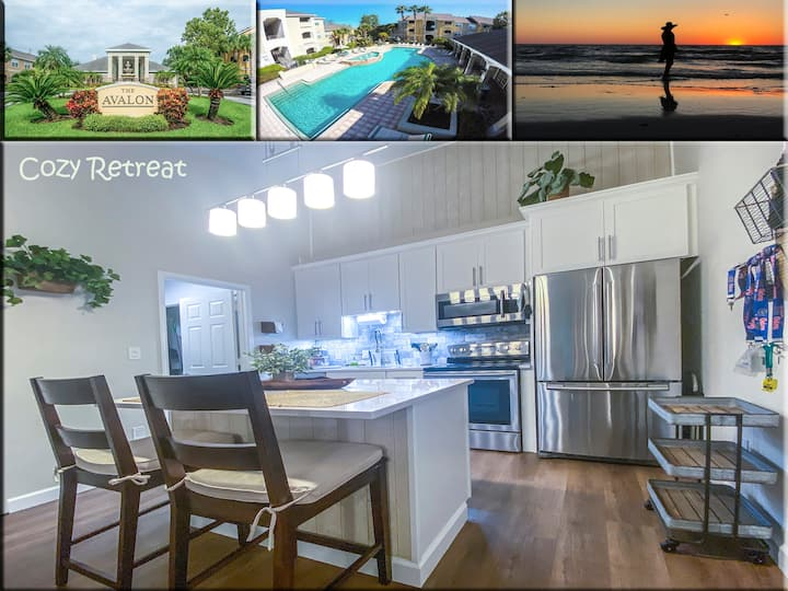 COZY RETREAT private condo near Clearwater Beach