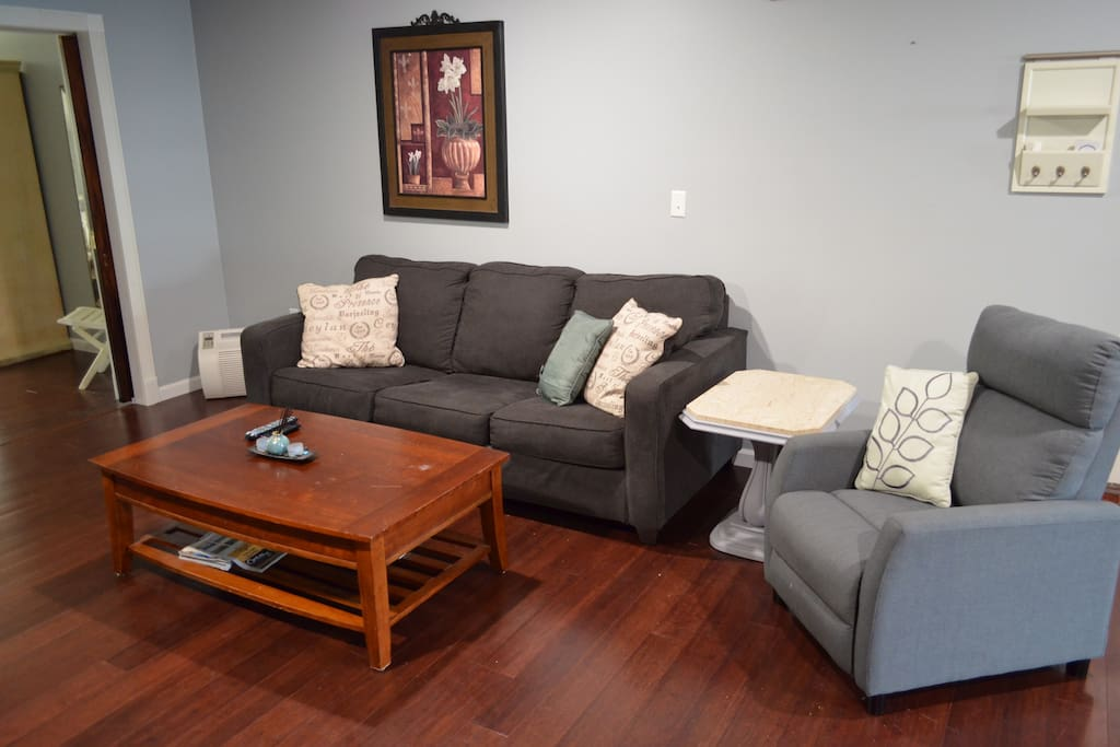 Pullout Queen Couch and Chair