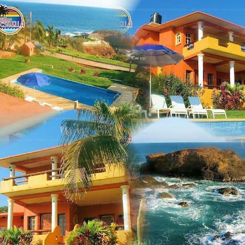 VILLAS ESTRELLA, su casa en la playa!!