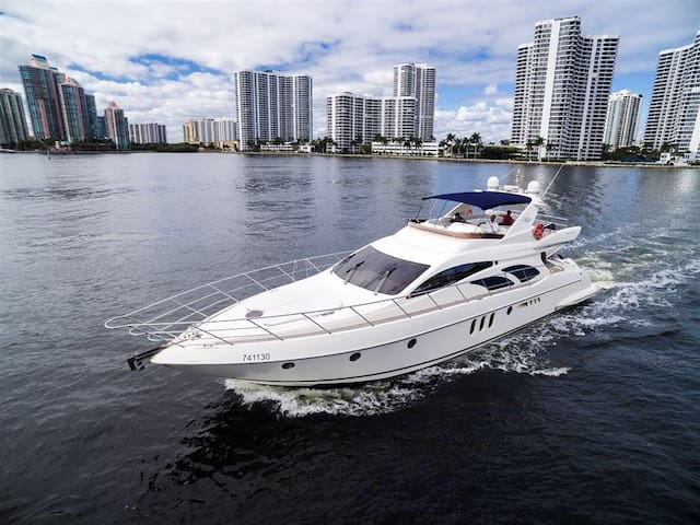 Luxury yacht spend a weekend nicely - Miami Beach - Wohnung