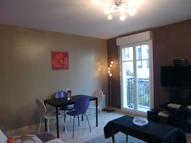40m² for 4people at 10 min from Disneyland Paris - Bussy-Saint-Georges