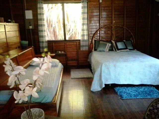 Latitude8Lodge Air conditioned on Beach with pool - Zancudo - Cabin
