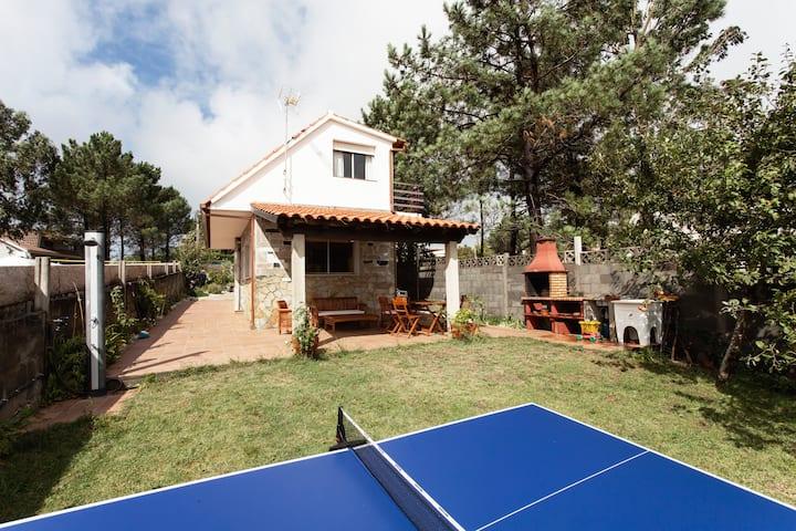 Villa near the beach in Sanxenxo