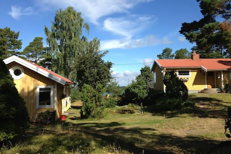 Stunning sea view, wild nature close to Stockholm - Djurö - House