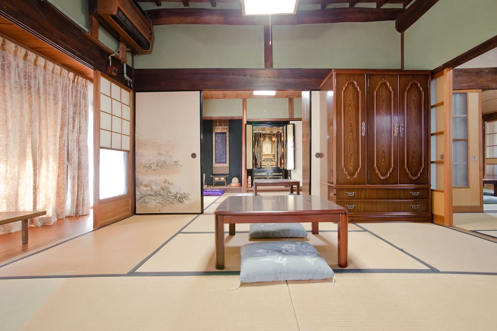 Very traditional Japanese house.