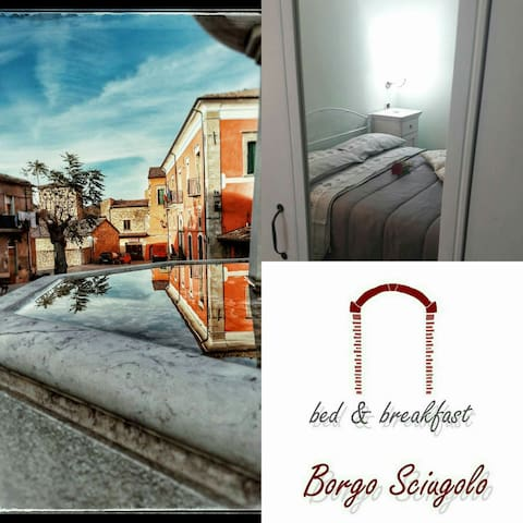 B&b Borgo Sciugolo - BASELICE Camera sole - Baselice - Bed & Breakfast
