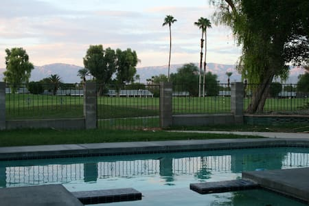 Golf Course Front Desert Oasis with pool and Spa. - Palm Desert