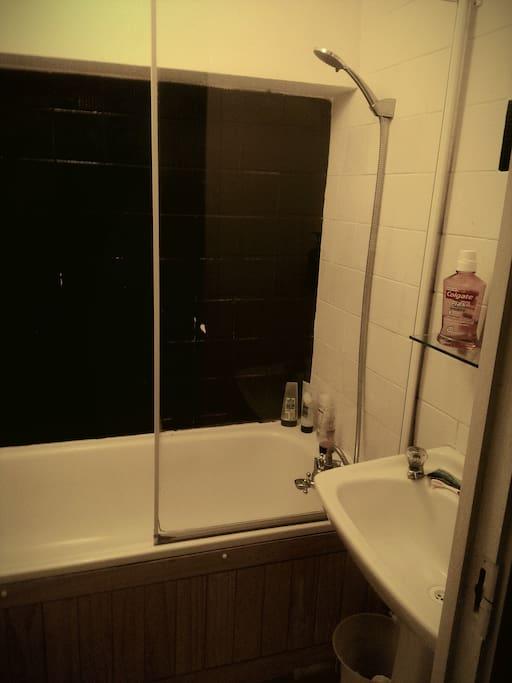 small  and basic bathroom