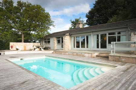 60's poolhouse set in the Cotswolds - Stroud - Rumah