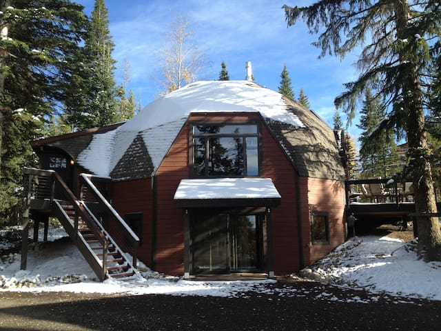 Stay in a Geodesic Dome! - Fraser - Huis