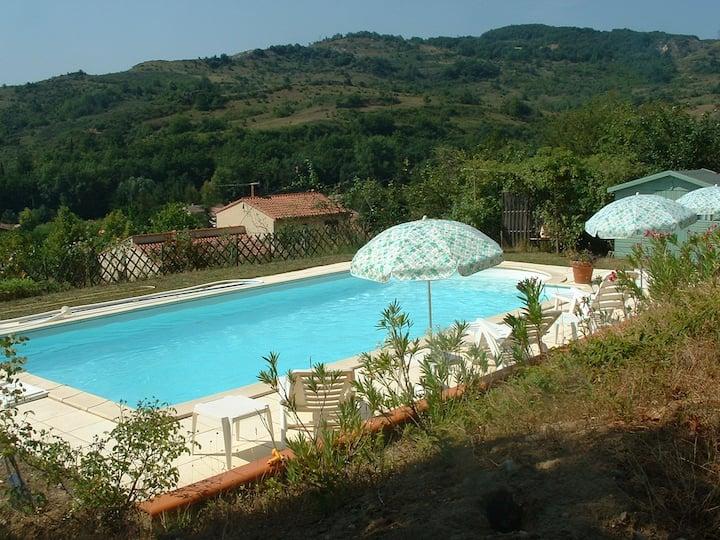 Superbe villa en piémont Cathare