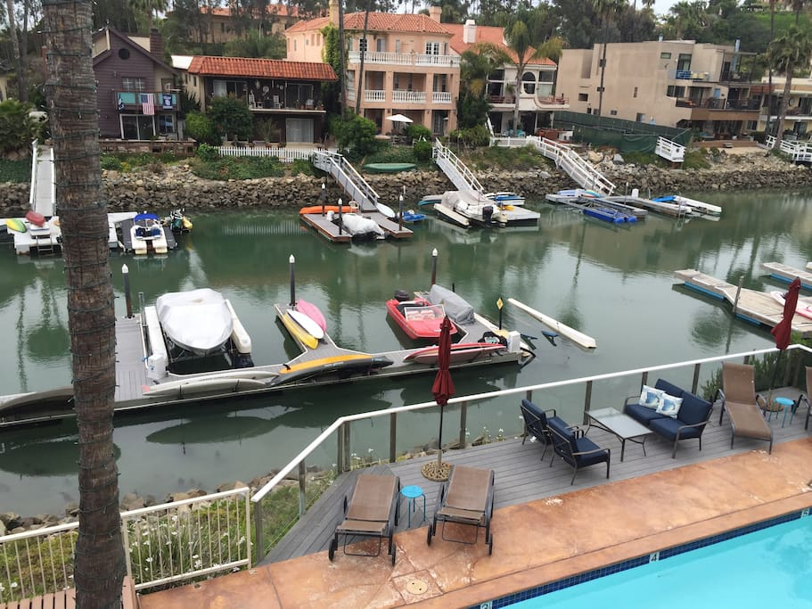 You can use our two standup paddle boards and kayaks