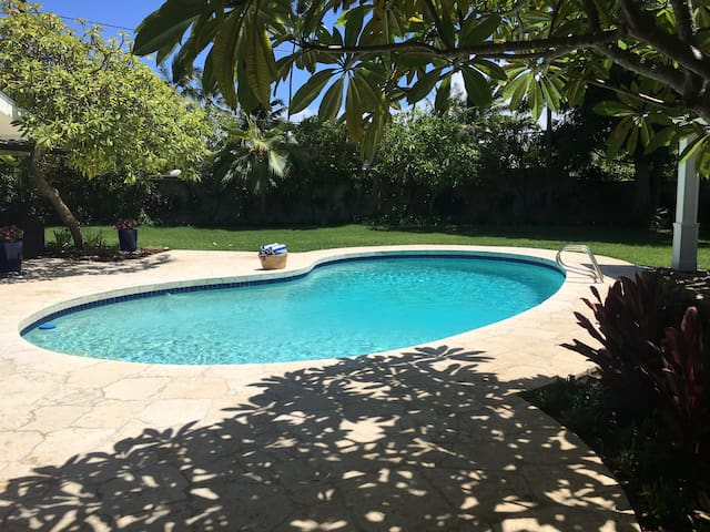 Beachside, family, vacation home with pool!