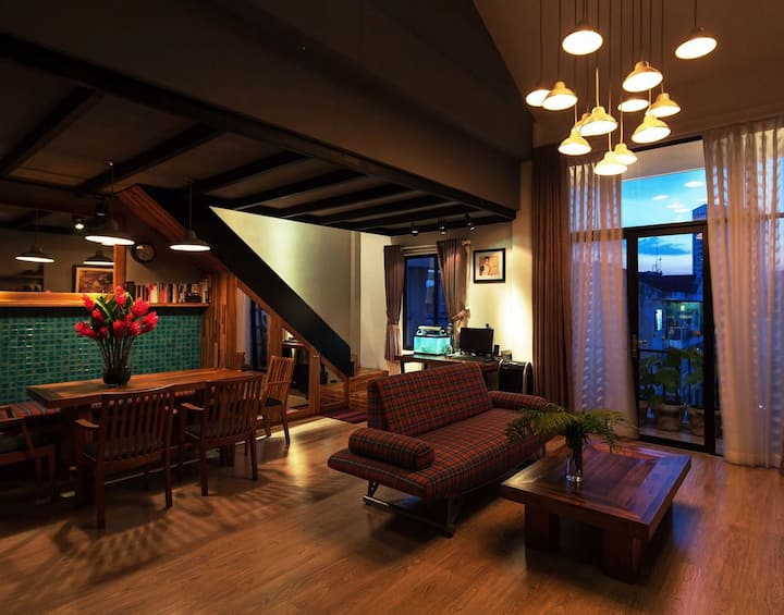 Beautiful loft house in CBD District 1 HCMC