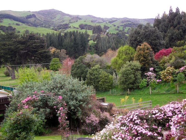 Artistic Tranquil Retreat, AKAROA