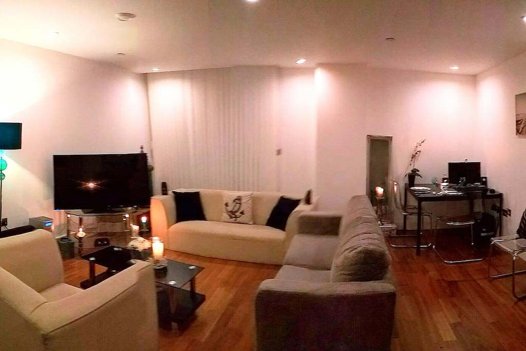 Chilled living room