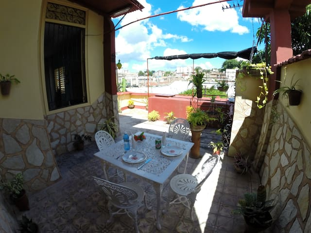 Marta's House .In the city center.English speakers