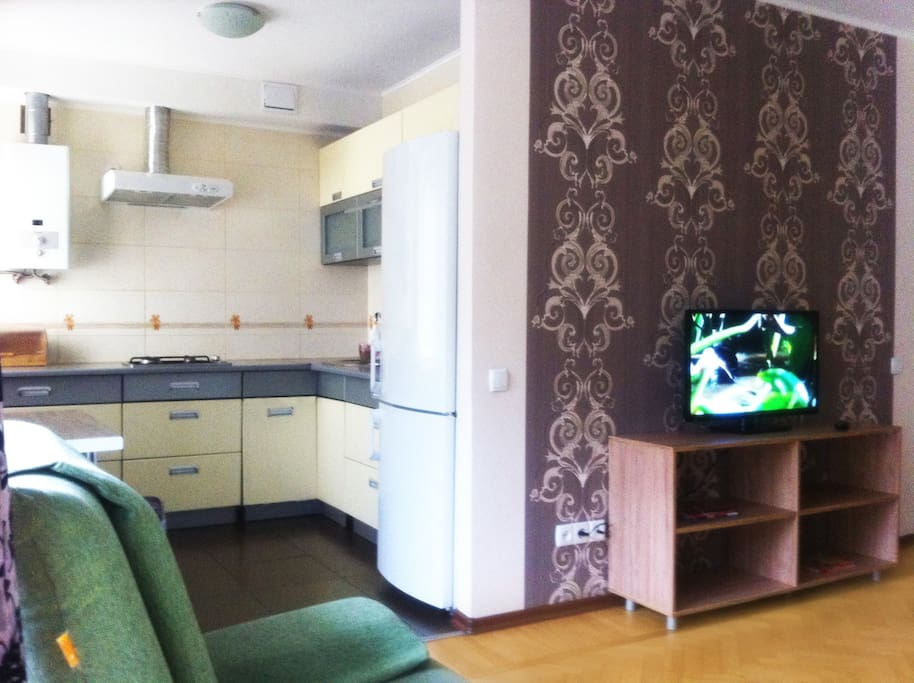 Bright 2bed apartment in the center