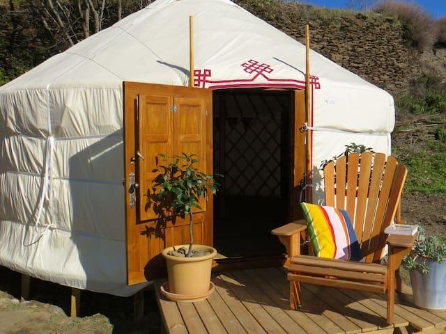 Glamping at Green Mountain Yurt - Pórtugos