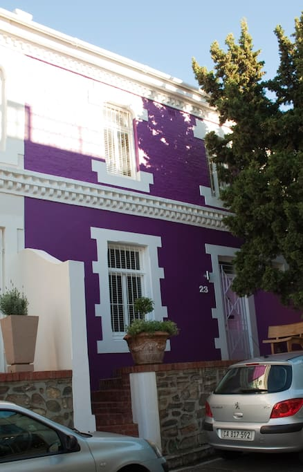 Purple House Front