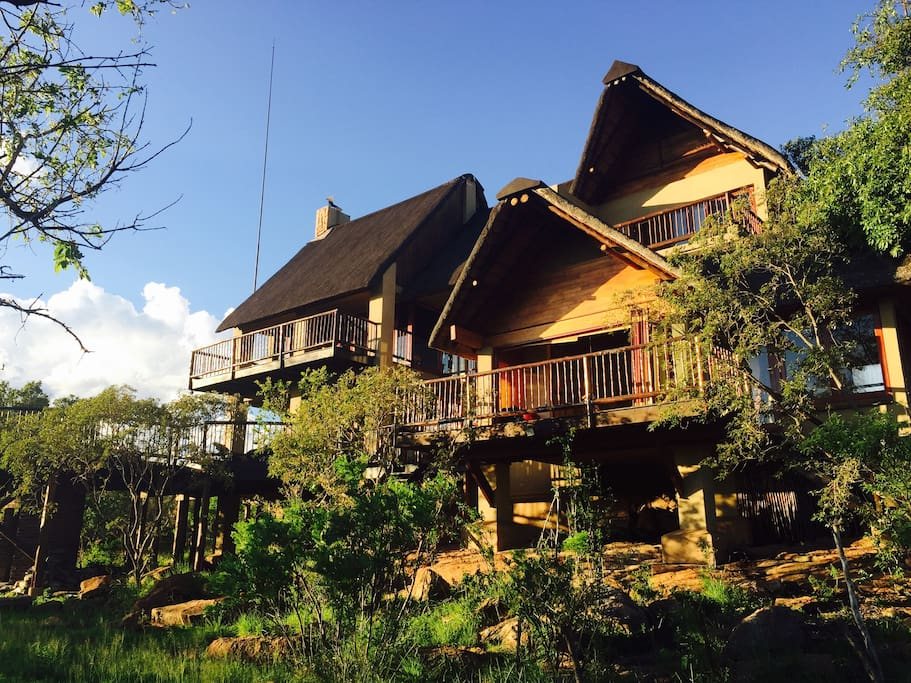 Front view of Ngong Hill Lodge
