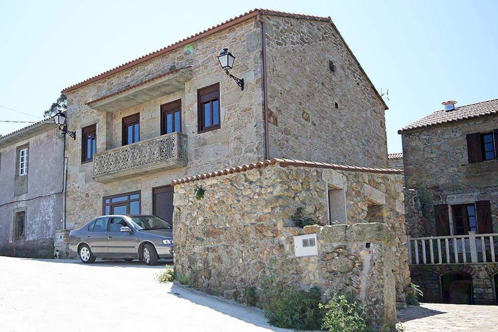 Casa da fonte playa rostro fisterra casas de campo en - Casas de campo en galicia ...