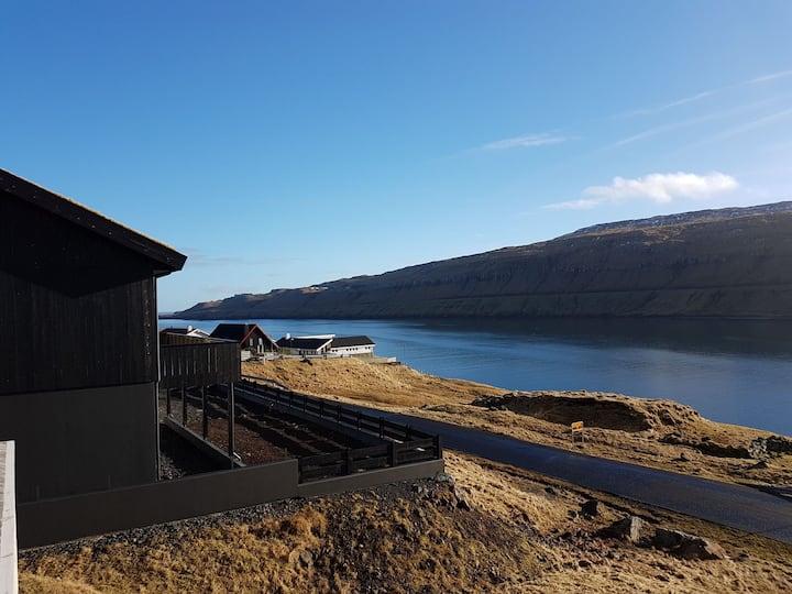 Lækkert hus nær Torshavn med fantastisk udsigt