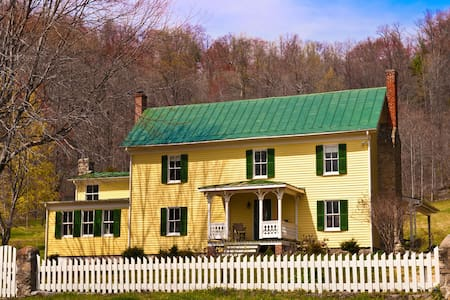 Enchanted-Historic Shenandoah Farm  - Madison - Haus