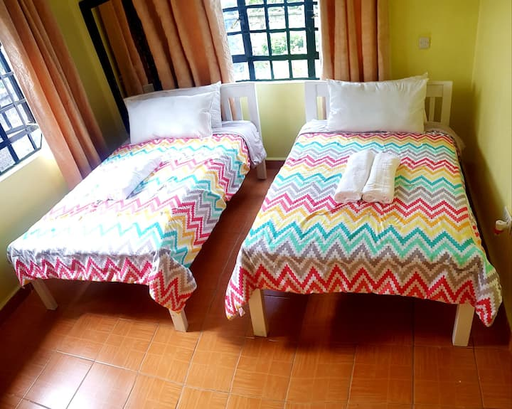 Budget friendly home stay in the countryside.