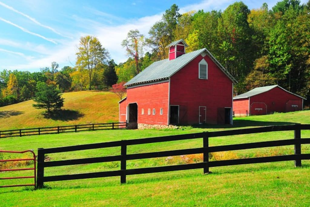 Historic Traditional barns are priceless with their old methods of construction and materials