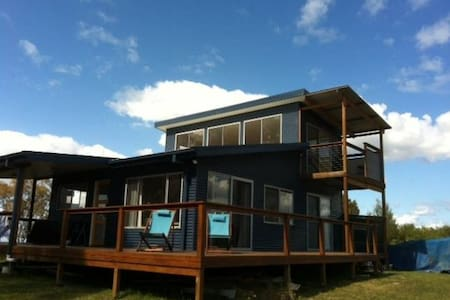 New, 2bed ecohouse with water views - Coomba Park - Talo