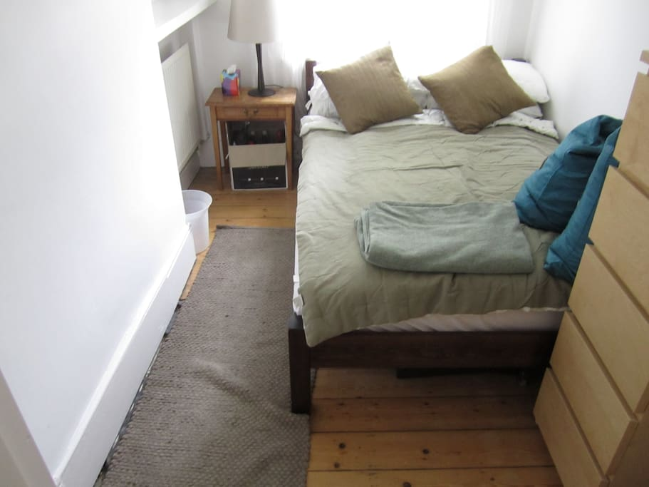 The Second Bedroom - Bright and Bigger than it looks in this picture!