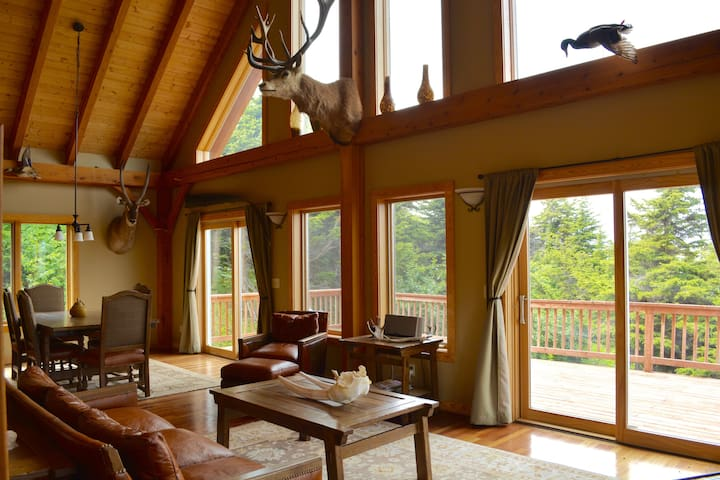 The Cook House | 360 Degree Mountain Views