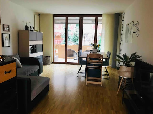 Very well located and equipped apartment in Riehen