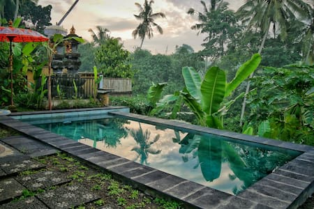 1BR Lovely View with Rice field & Pool#1 The Oding