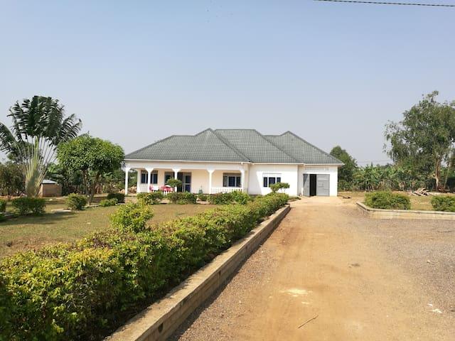 Unique peaceful place in Central Uganda.
