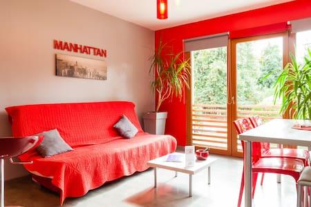 Le Manhattan, gite 2-4 pers, piscin - Chamery