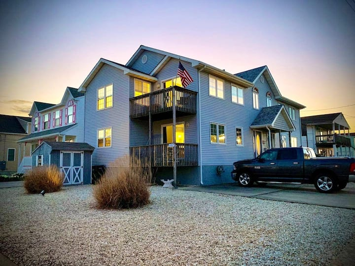 Brigantine Beach Paradise! Ocean and Bay Views!