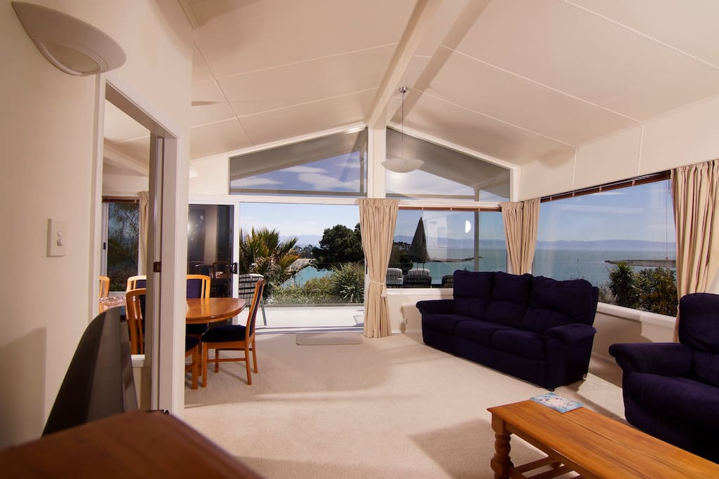 Large living areas open to the veranda.