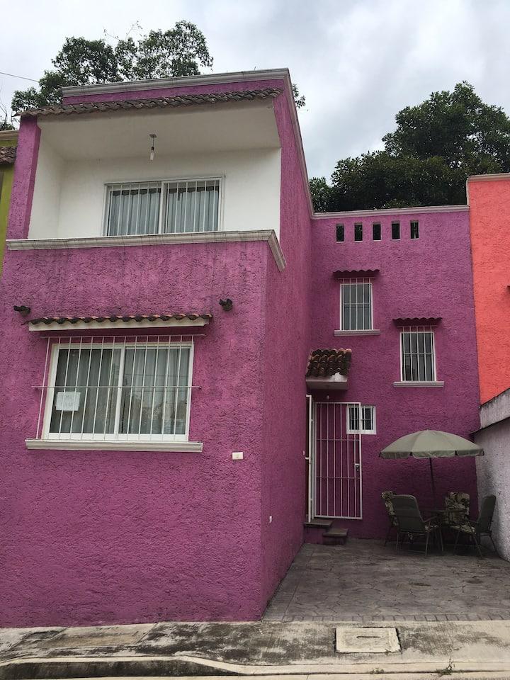 Casa Los Encinos en Pueblo Mágico.
