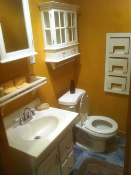 Updated bathroom or 2nd....'Office'