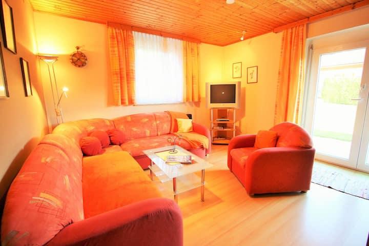 Spacious Apartment near Ski Area in Liebetig